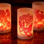 Double Papercut Luminaries
