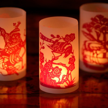 Fiona Paton Double PaperCut Luminaries